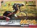 Image of Francesco Moser  A poster produced by the Italian equipment manufacturer Miche